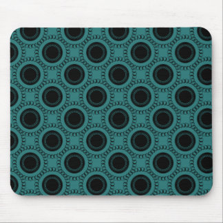 Perfectly Swanky Mousepad, Teal Mouse Pad