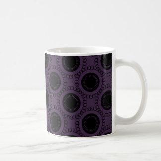 Perfectly Swanky Mug, Eggplant Classic White Coffee Mug