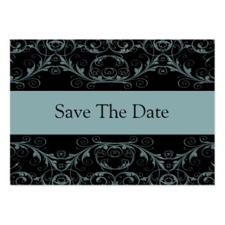 Perfectly Vintage Save The Date / Alluring Blue Large Business Card