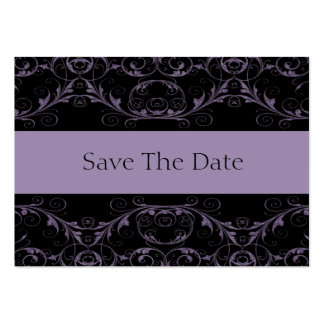 Perfectly Vintage Save The Date / Amethyst Large Business Card