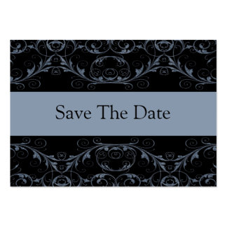 Perfectly Vintage Save The Date Cards / Slate Business Card Template
