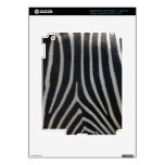 Perfectly Zebra Print Decal For iPad 3