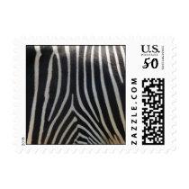 Perfectly Zebra Print Postage