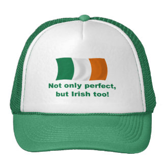 Perfecto e irlandés gorras