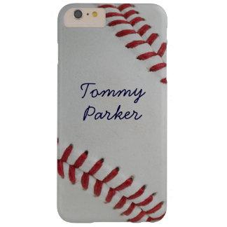 Perfecto fantástico de la echada del béisbol funda barely there iPhone 6 plus