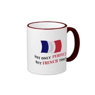 Perfecto y francés tazas