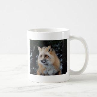 Perfil bonito del Fox Taza Clásica