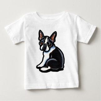 Perfil de Boston Terrier Camisetas