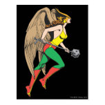 Perfil de Hawkwoman Tarjeta Postal