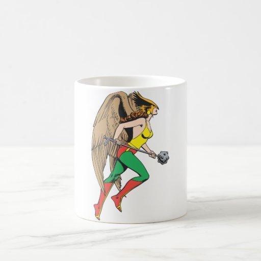 Perfil de Hawkwoman Taza Básica Blanca