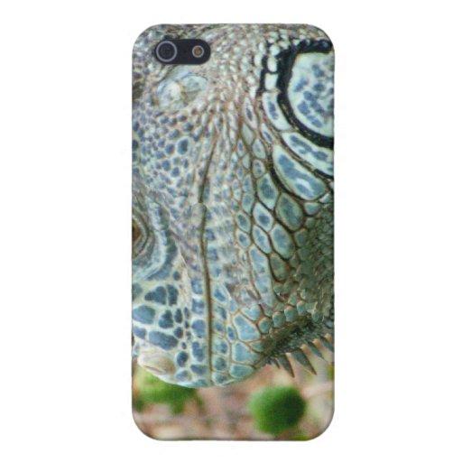 Perfil de la iguana iPhone 5 funda