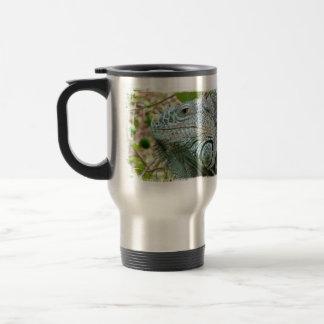 Perfil de la iguana tazas de café