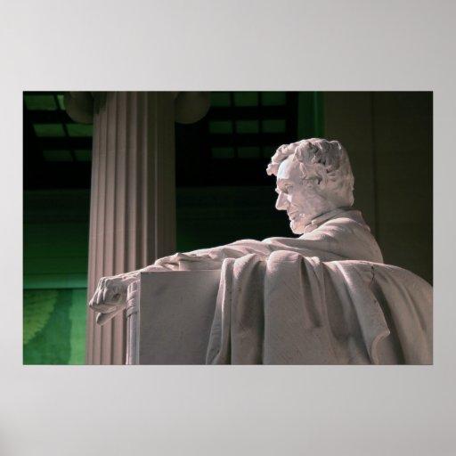 Perfil de Lincoln Impresiones