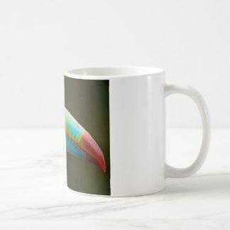 Perfil de un Toucan Quilla-cargado en cuenta Taza De Café