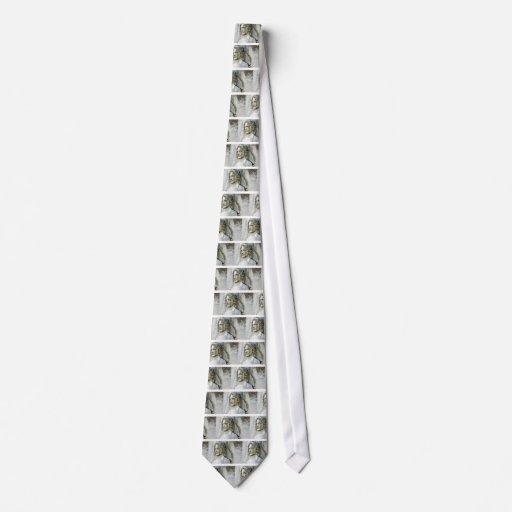 Perfil del ángel corbatas personalizadas