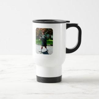 Perfil del gaitero taza de café