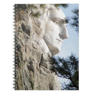 Perfil del monte Rushmore Cuadernos