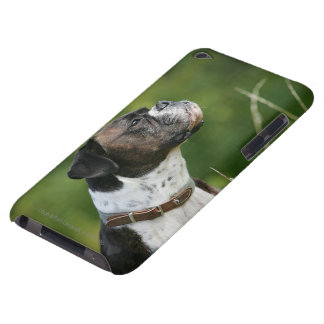 Perfil del perro del boxeador iPod touch Case-Mate cárcasa