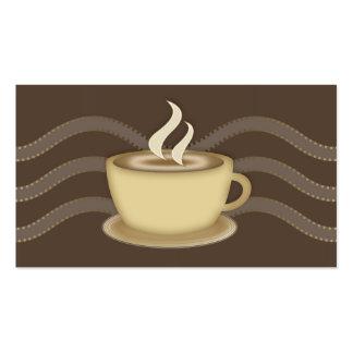 Perfil del Social de los amantes del café Tarjetas De Visita