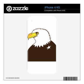 Perfil general de Eagle Calcomanías Para iPhone 4S