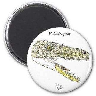 Perfil Gregory Paul del Velociraptor del imán del