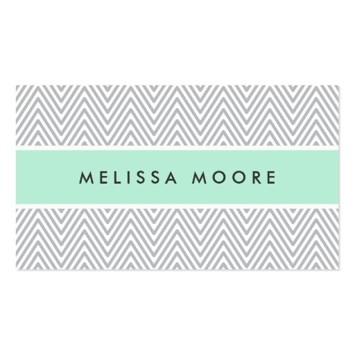 Perfil gris elegante del profesional de la verde m tarjeta de visita