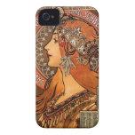 Perfil hermoso de las señoras - Mucha iPhone 4 Fundas