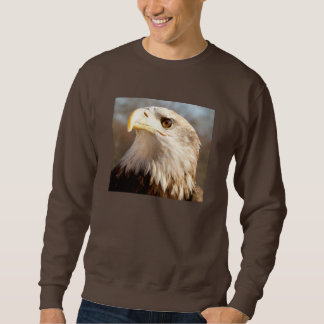 Perfil majestuoso calvo de Eagle Suéter
