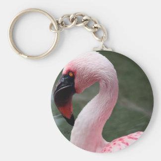 Perfil rosado llaveros personalizados