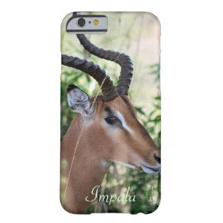 Perfil surafricano del impala funda barely there iPhone 6