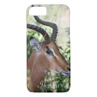 Perfil surafricano del impala funda iPhone 7