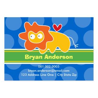 Perfil tarjeta de presentación de la foto del niño