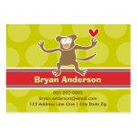 Perfil/tarjeta de presentación de la foto del niño tarjetas de visita grandes