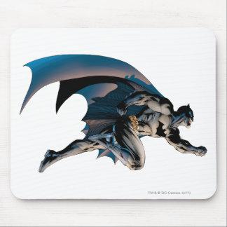 Perfil vago de Batman Alfombrillas De Raton