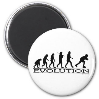 Perfilado de la evolución imán redondo 5 cm