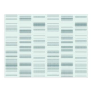 Perfiles de la DNA: Instrucciones genéticas que Tarjeta Postal