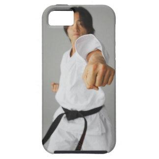 Perforación de Blackbelt iPhone 5 Carcasas