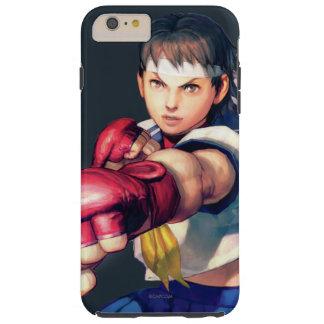 Perforación de Sakura Funda Para iPhone 6 Plus Tough