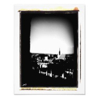 Perforación del cielo fotografías