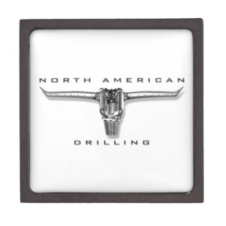 Perforación norteamericana cajas de joyas de calidad