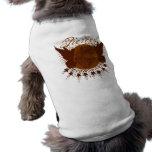 Perforado de dentro ropa de perro