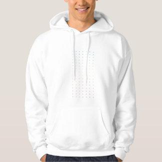 Perforated Hooded Sweatshirt