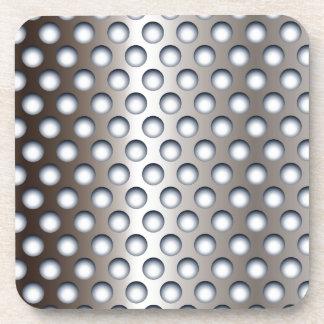 Perforated Metal Coaster