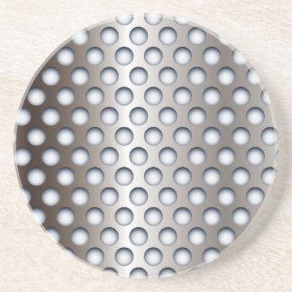 Perforated Metal Sandstone Coaster