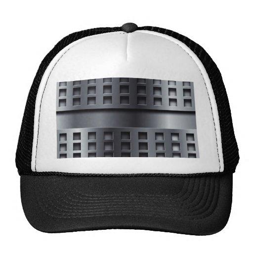 Perforated Metal Trucker Hat