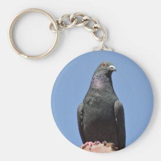 Perfore la paloma llaveros
