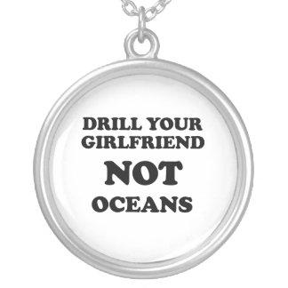 Perfore sus océanos de la novia NO Joyería