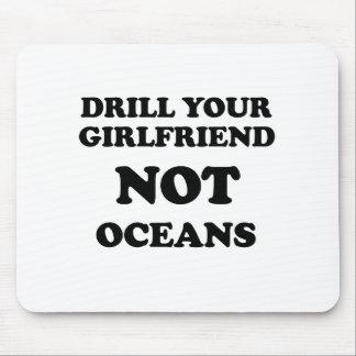 Perfore sus océanos de la novia NO Alfombrilla De Raton