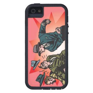 Perfore (versión rosada) la cubierta de la toba vo iPhone 5 Case-Mate carcasas