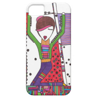 performance art girl on iphone case